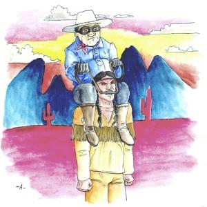 Lone Ranger by Aaron Bir